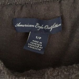 American Eagle Outfitters Tops - American eagle Charcoal grey top